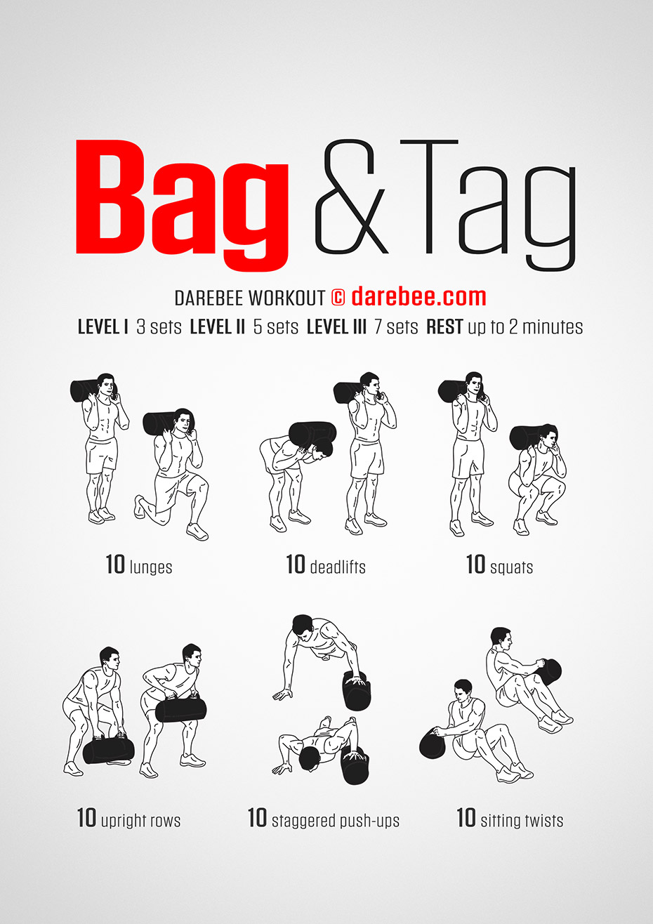 bag and tag workout