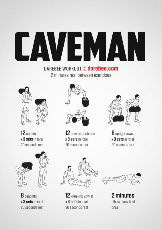 caveman workout