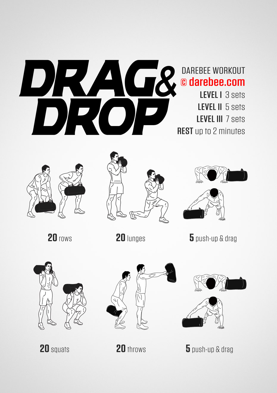drag and drop workout